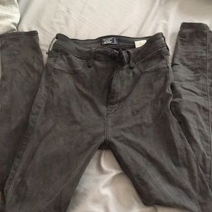 Abercrombie & Fitch high rise jegging